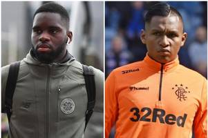 alfredo morelos or odsonne edouard? rangers and celtic stars rated as debate rages on