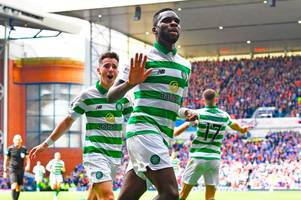 celtic star odsonne edouard destroys rangers' alfredo morelos in top striker vote