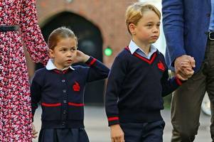 Why Princess Charlotte and Prince George won't have 'best' friends at school