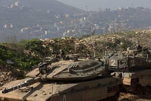 hezbollah says it shot down israeli drone over south lebanon