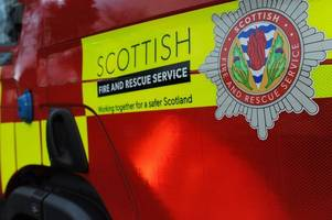 fire fighters rush to hamilton flat after reports of a blaze