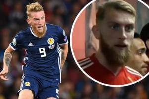 sheffield united's oli mcburnie opens up on embarrassing scotland gaffe that put ex-swansea city man at centre of international storm