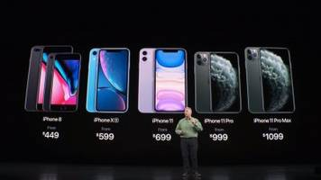These are Apple's new iPhones: the iPhone 11, iPhone 11 Pro, and iPhone 11 Pro Max (AAPL)