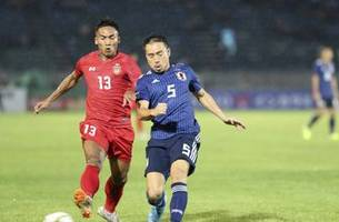 japan kicks off world cup qualification with myanmar win