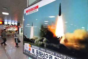 Life usual, no U.S. criticism in Pyongyang after projectile firings