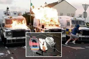 new ira trying to kill police officers warns top cop as bomb found in londonderry