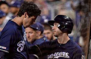 Brewers lose Yelich for season in 4-3 win over Marlins