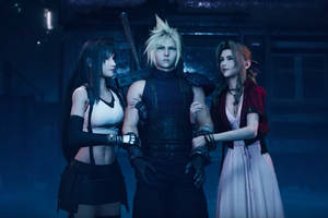 Final Fantasy VII Remake's TGS trailer is full of familiar scenes