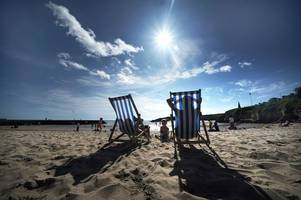 uk weather: heatwave will sweep across country triggered by hurricane dorian