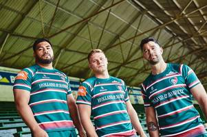 revealed: how leicester tigers will look at home and away in 2019-20