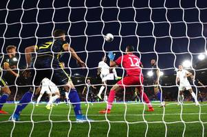 Nottingham Forest loan goalkeeper Aro Muric will learn from 'tough moments against England'