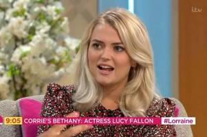coronation street's bethany platt exit date revealed by lucy fallon in goodbye lorraine interview