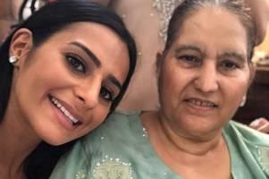grieving coronation street star sair khan weeps over mum's heartbreaking death