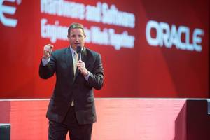 oracle stock drops as co-ceo mark hurd announces medical leave of absence