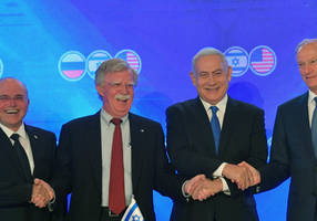 What does John Bolton's departure mean for Israel?
