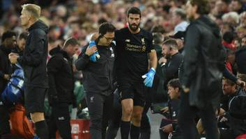 liverpool's goalkeeping coach offers update on fitness of adrian & alisson