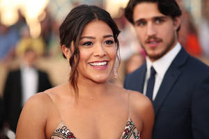 why the cbs-produced gina rodriguez potus series 'diary of a female president' landed at disney+ instead of the cw