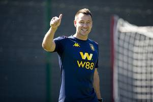 'Get it done!' Chelsea fans are loving this suggestion from Aston Villa coach John Terry