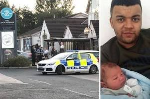 Suspect who threw baby to death in river 'calmly sat down in pub' after horrific incident
