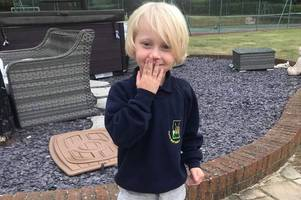 aldi sends adorable letter to boy with autism after mum's desperate welly plea