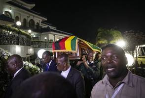 robert mugabe family's fury at funeral plans