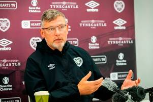 Craig Levein makes plea to Hearts stars as he provides injury update