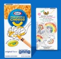 Kraft Partners With Crayola to Bring More Fun to Mealtime
