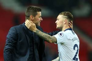 pochettino sets record straight on kieran trippier exit and reveals kane message from defender