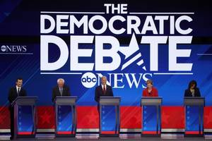 health care attacks get personal and 2 other takeaways from the third democratic debate