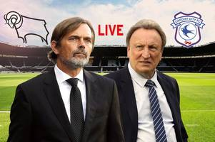 derby county v cardiff city live - build-up, team news and analysis ahead of championship clash