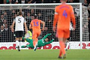 derby county and cardiff city all square at the break - how the first-half unfolded