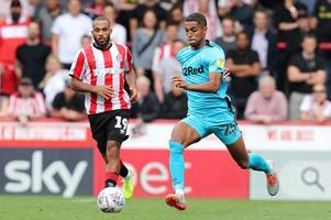 derby county defender opens up on brentford horror show and says phillip cocu was right to have a go