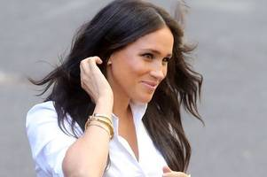Meghan Markle wears two of Princess Diana's most treasured items to clothing launch