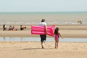 kent weather: how hot it will get in your part of kent during september heatwave