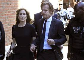 Felicity Huffman sentenced to 14 days in prison for college cheating scandal