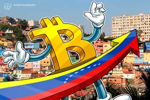 venezuela: new bitcoin trading record as biggest bank embraces petro