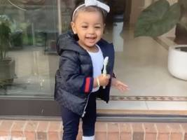 Watch: Cardi B + Offset's Daughter Kulture Kiari Is 100% Bute Shopping W/ Her Parents