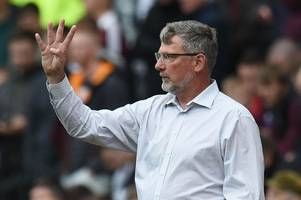 Craig Levein blanks Hearts fans' protest and declares 'we are six points off fourth'