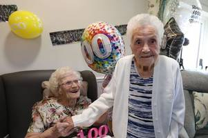 lifelong friends set to celebrate 100th birthdays within weeks of each other