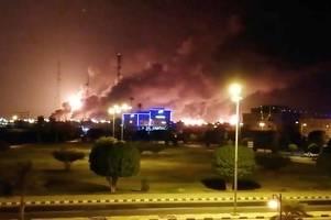 us accuses iran of leading 'unprecedented' attack on saudi oil plants
