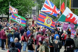soldier f protest in brecon: this is why former soldiers will be parading through town on saturday