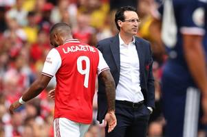 arsenal news: alexandre lacazette blow, latest injury update and kieran tierney's classy gesture
