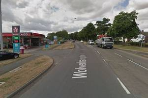 woman badly hurt after being hit by a motorbike in penkridge