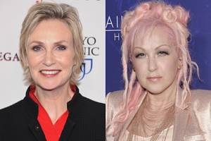 jane lynch and cyndi lauper netflix series in the works, lynch says