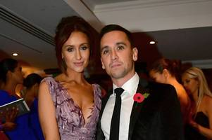 catherine tyldesley's husband mercilessly teased by pals over 'strictly curse'