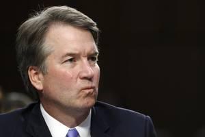 donald trump defends brett kavanaugh over fresh misconduct allegation
