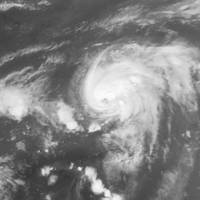humberto has been upgraded to a hurricane after moving further east into the atlantic
