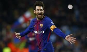 Messi could make Barca return against Dortmund