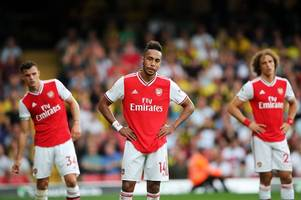 'the manager isn't out here!' - arsenal hammered for lacking one key quality in watford draw