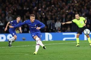 Chelsea fans demand Ross Barkley transfer after Champions League penalty miss